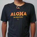 フラガールは勿論、おしゃれなアロハ・ラバーズ、ロコに根強い人気のアロハ・アパレル・ブランド『Sig Zane Designs(シグゼーン デザイン)』ALOHA Tシャツ 男性用アメリカMサイズのみ※北海道・九州は1万円以上で送料無料!(沖縄のぞく)