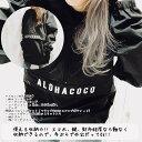 アロハココアノラックジャケット【ブラック】
