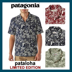 �ڥѥ���ϡ�patagonia/�ѥ����˥�[52565]MEN'SLIMITEDEDITIONPATALOHASHIRT��󥺥�ߥƥåɥ��ǥ������ѥ���ϥ���ĥ���ϥ����[�쥮��顼�ե��å�]