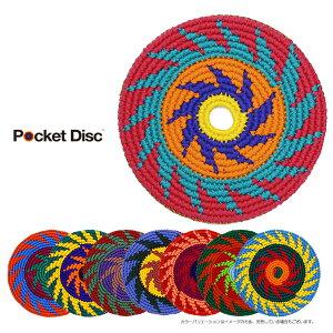 【PocketDiscポケットディスク】[スポーツエディションG]いつでも!どこでも!自由自在に遊べるコットン製のフライングディスク。フリスビー鍋敷等たくさんの使い道!
