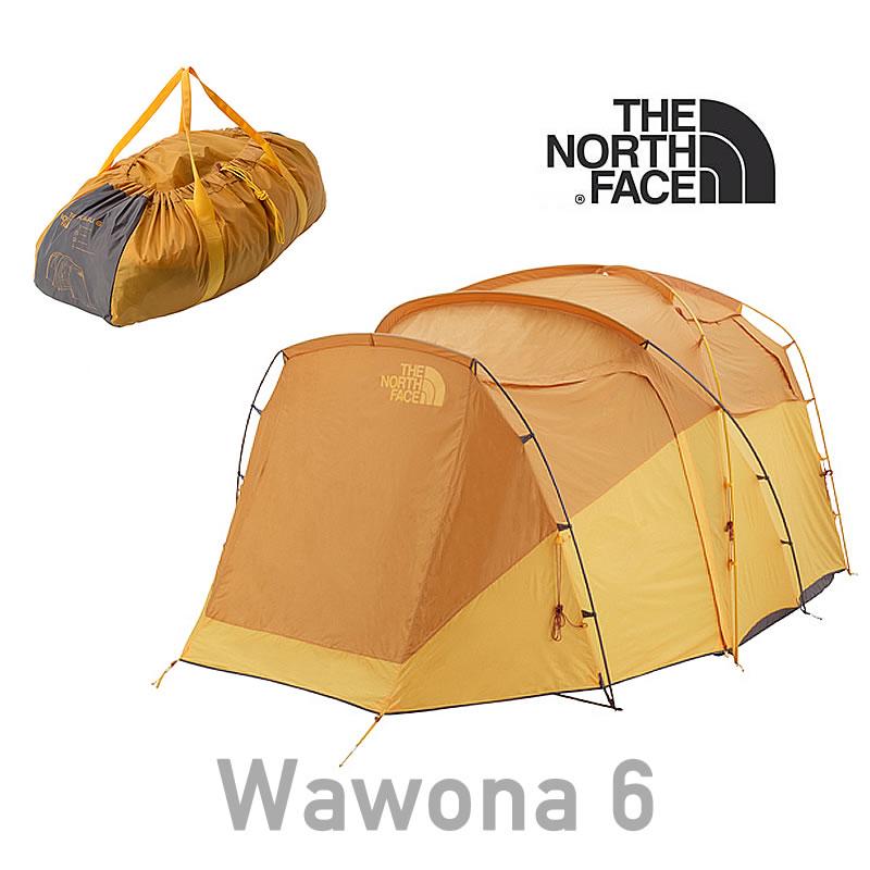 ノースフェイス テント THE NORTH FACE 【6人用テント】 [NV21702] Wawona 6 ワオナ6:アロハコーポレーション