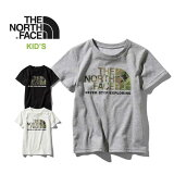 ノースフェイス キッズ Tシャツ THE NORTH FACE [ NTJ31992 ] S/S CAMO LOGO TEE ショートスリーブカモロゴティー 子供服 [メール便] [0330]