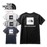 【お買い物マラソン最大P24倍】ノースフェイス レディース Tシャツ THE NORTH FACE [ NTW32038 ] S/S SQ LOGO TEE ショートスリーブスクエアーロゴティー 半袖 [メール便] [0420]【Y】【SPS03】