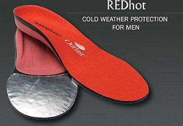 《男性用寒冷モデル》 SUPERfeet 【RED HOT レッドホット】スーパーフィート インソール 中敷 スキー スノーボード 冬用ブーツ スポーツ