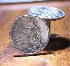 【ハワイコイン カフリンク】ハワイ州の記念硬貨(クォーター・25セント)使用カフリンク/カフリンクス/カフスボタンメンズファッション小物
