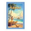 ハワイアン・ポストカードグリーティング・カード(10枚セット)人気ハワイアン雑貨