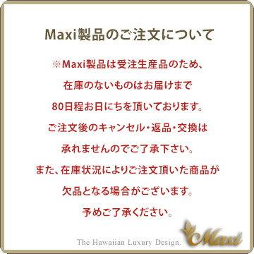 ネックレス ハワイアンジュエリー アクセサリー レディース 女性 メンズ 男性 [Maxi]マキシ オーダーメイドペンダント・スクリプトレターK14ホワイトゴールド mxpd007wg