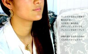 ●新作●ネックレスレディース【RERALUy】18金K18イエローゴールド・オパール&ダイヤモンド0.05ctハートアラベスクネックレスrne1105