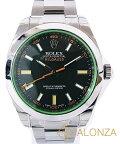 【Sランク】ROLEXロレックスミルガウス116400GVメンズ腕時計