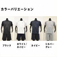 【送料無料!!】FILA(フィラ)吸汗速乾半袖Tシャツ、ハーフパンツメンズトレーニングウェア上下セット上下セットアップ