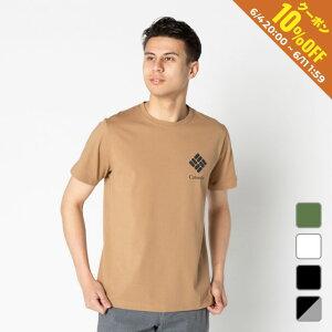 【6/5はエントリーでP10倍!】 コロンビア メンズ アウトドア 半袖Tシャツ タクフォーク ショートスリーブTシャツ (PM1896) Columbia