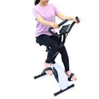 ティゴラ フィットネスバイク TR FB003-XB BK ブラック 静音 1年保証 マグネット式 折りたたみ エクササイズ トレーニングマシン フィットネスマシン ダイエット TIGORA