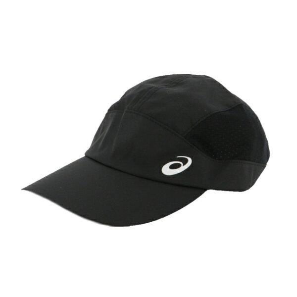 アシックス陸上ランニングキャップランニングクロスキャップ(3013A160001)帽子:ブラックasics