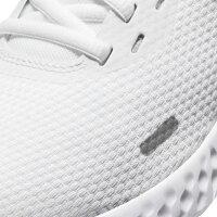 ナイキ ウィメンズ レボリューション 5 BQ3207 104 レディース スニーカー:ホワイト NIKE 白スニーカー 白靴 通学スニーカー 白スクールシューズ 通学靴