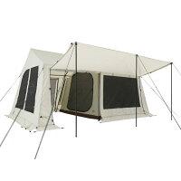 ロゴス グランベーシックリバイバルコテージ L-BJ 71805546 キャンプ ロッジ型テント コテージ型 シェルター 大型 スクリーンテント LOGOS