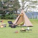 イグニオ キャンプ テント ティピーテント ワンポールテント IG19300TRT ソロテント ソロキャンプ 一人用 2人用 IGNIO