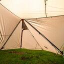 オガワ ツインピルツフォークL用二又フレーム (3047) キャンプ テント : シルバー Ogawa