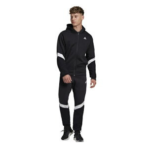 アディダス メンズ ジャージ上下セット MトラックスーツWinterized IPD26 FR7219 スポーツウェア : ブラック adidas