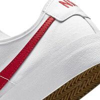 ナイキ SB BLZR コート CV1658 100 メンズ スニーカー : ホワイト×レッド NIKE