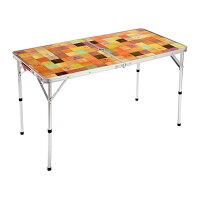 コールマン ナチュラルモザイクリビングテーブル/120プラス (2000026751) キャンプ テーブル Coleman