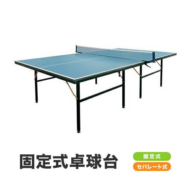 〔特選品〕卓球台 国際規格サイズ セパレート式 (固定式)〔代引可能〕(PB-2PG0019)