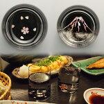 -AMANO-螺鈿ガラス「グラス桜・富士」