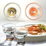 -AMANO-螺鈿ガラス「杯金桜(黒・朱)」