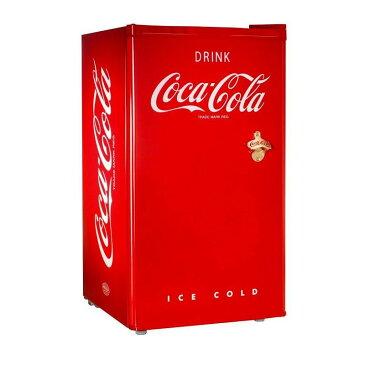 コカ・コーラ ノスタルジア レトロ 冷凍冷蔵庫 栓抜き付 西海岸 カリフォルニアNostalgia RRF300SDBCOKE Coca-Cola Compact Refrigerator 家電