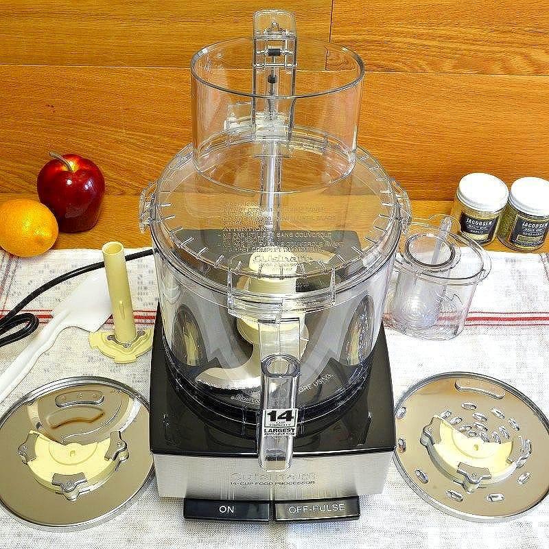 クイジナート フードプロセッサー 14カップ ステンレス Cusinart DFP-14BCNY DFP-14BCWNY 家電