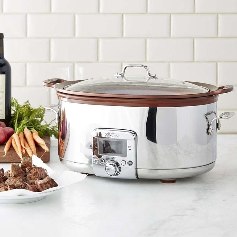 ALL-CLAD(オールクラッド)『7Qt. Gourmet Slow Cooker with In-Pot Browning function』