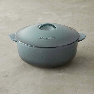 ウィリアムズソノマ ルクルーゼ キャストアイロン マリーポット キャセロール 鍋 3.8L Williams-Sonoma Le Creuset Cast-Iron Maree Pot