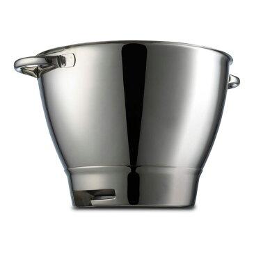 ケンウッド スタンドミキサー用 ステンレスボウル 4.6L パーツ 部品 Kenwood Chef Sized Stainless Steel Bowl with Handles 36385A