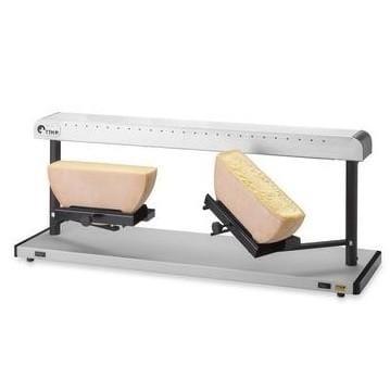 業務品質 ラクレットチーズを溶かす機械 ハーフ 2個同時調理 グリル TTM Evolene Raclette Melter 家電