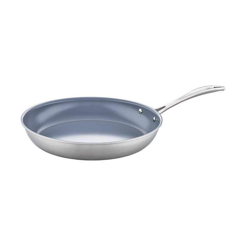 鍋・フライパン, フライパン  J.A. 30cm IH PFOA PTFE ZWILLING Spirit 3-ply 12 Stainless Steel Ceramic Nonstick Fry Pan