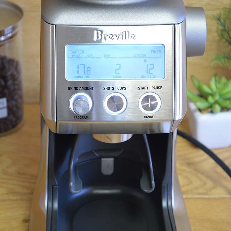 ブレビル スマートグラインダー エスプレッソ フレンチプレス 豆挽き Breville BCG820BSSXL The Smart Grinder Pro Coffee Bean Grinder 家電