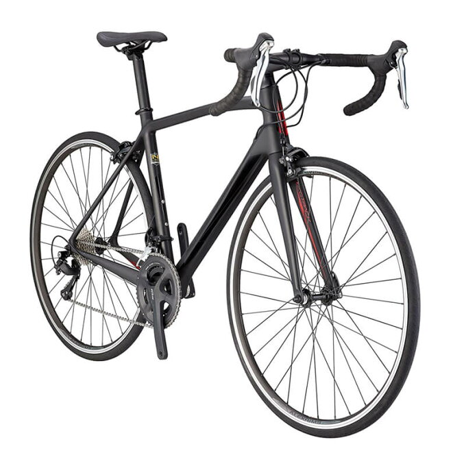 ロードバイク シュウイン カーボンフレーム Shimano シマノ 105 Schwinn Fastback Carbon 700C Performance Road Bike, 51cm/Medium Frame, Matte Black