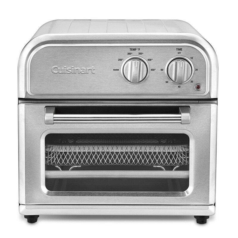 ホットプレート・グリル・フライヤー, 電気フライヤー  Cuisinart AFR-25 Air Fryer, One Size, Silver