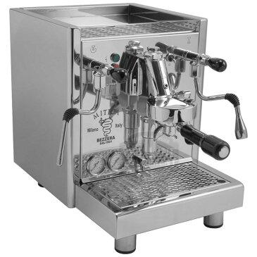 業務品質 エスプレッソマシン HXボイラー PID ステンレス Bezzera Mitica Commercial Espresso Machine HX SS PID boiler switchable tank / direct connect Rotary Vane Pump 家電