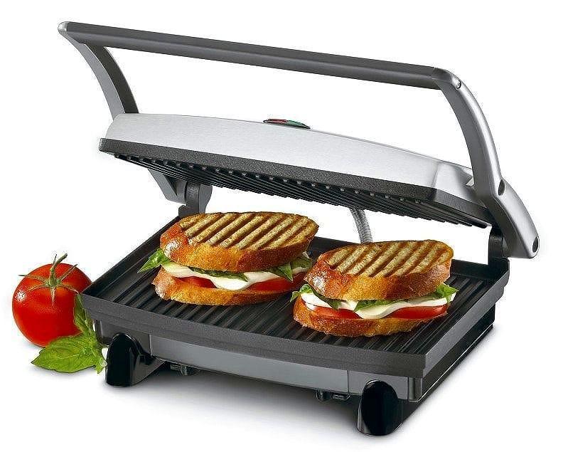 クイジナート グリル&パニーニメーカー&サンドウィッチプレスメーカー Cuisinart GR-1 Griddler Panini and Sandwich Press グリルメーカー ホットプレート サンドメーカー お肉料理などに  家電