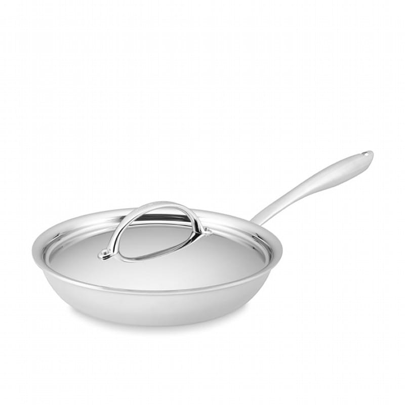 鍋・フライパン, フライパン  25cm PFOA Williams-Sonoma Thermo-Clad Stainless-Steel Nonstick Covered Fry Pan