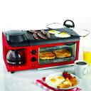 オーブン トースター おしゃれ かわいい かっこいい 1台3役 3WAY 朝食準備セット ホットプレート コンパクト ノスタルジア レトロ カリフォルニア 西