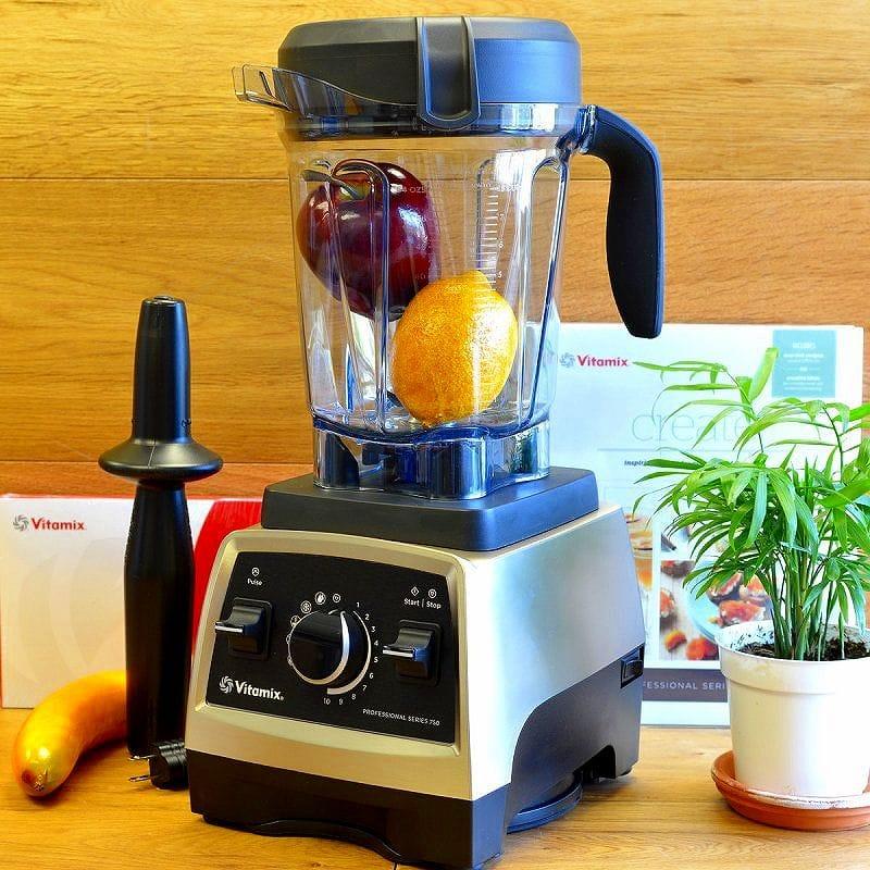 【レンタル6泊7日】【クレジットカード決済のみ】バイタミックス Vitamix Pro 750 ブレンダー ミキサー