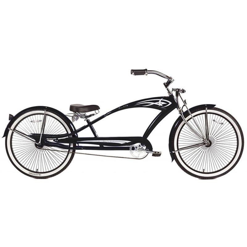 自転車・サイクリング, ビーチクルーザー  26 12 Micargi GTS Beach Cruiser Bike, Black Puma, 26-Inch