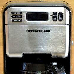 ハミルトンビーチデジタルコーヒーメーカー12カップステンレススチールHamiltonBeach4620112CupDigitalCoffeemaker,StainlessSteel【smtb-k】【kb】【RCP】