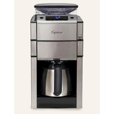 カプレッソ コーヒーメーカー 豆挽き付 10カップ ステンレスカラフェ Capresso 488.05 Team Pro Plus Thermal Carafe Coffee Maker