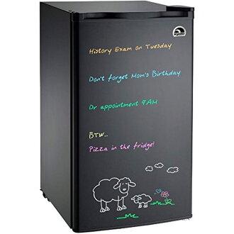 消息一座冰屋板緊湊冰箱 85 L 圓頂冰屋 FR326M-D-黑抹去板冰箱