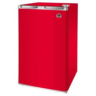 圓頂冰屋緊湊冰箱 90 L 圓頂冰屋 3.2-立方英尺冰箱紅