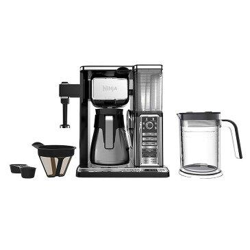 ニンジャ コーヒーバー コーヒーメーカー ミルク泡だて機能付 ステンレスカラフェ Ninja Coffee Bar Thermal Carafe System (CF097)