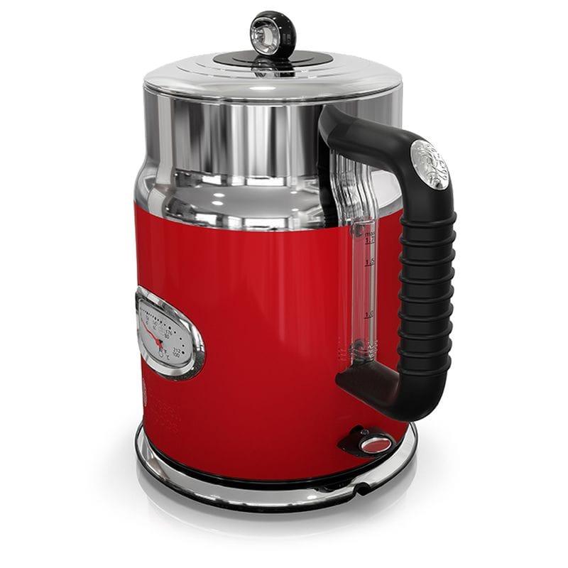 電気ケトル ラッセルホブス レトロスタイル 温度計付 ヤカン キッチン Russell Hobbs Retro Style 1.7L Electric Kettle KE5550 家電