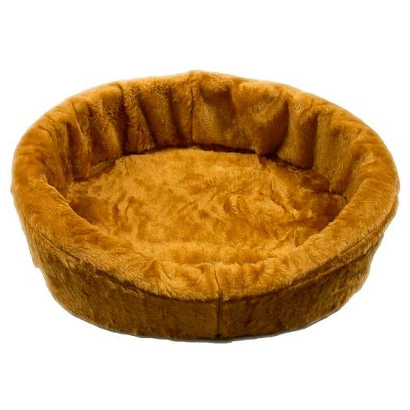 アメリカ製 カドラー ドッグベッドキング ペット 犬 Dog Bed King USA Tan Plush Fur Dog Ortho Comfort Bed